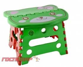 MasterTool Стульчик складной детский пластиковый фигурный с картинкой 240190180 мм, Арт. 92-0809