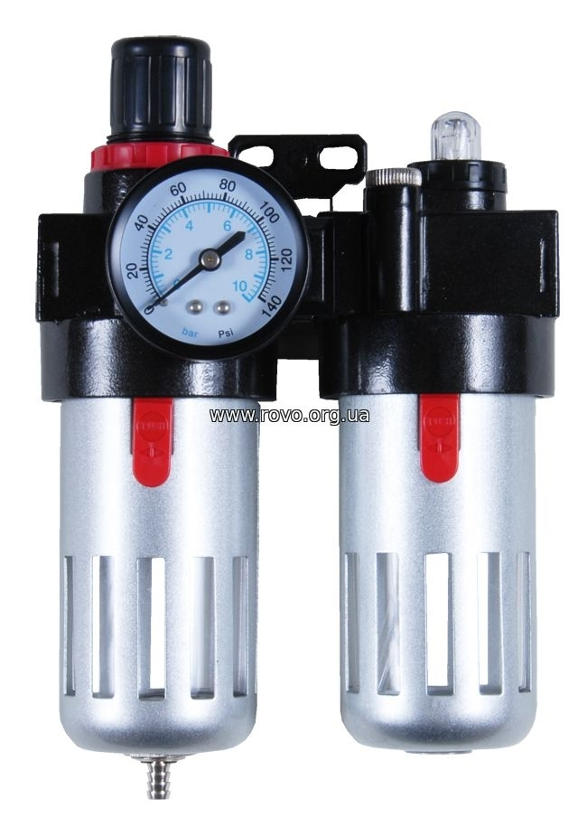 блок подготовки воздуха (фильтр, редуктор, манометр, маслообогатитель )